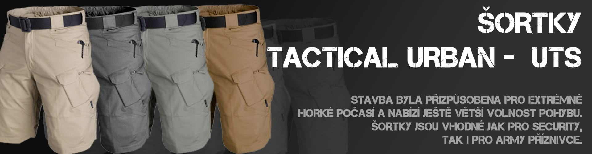 Šortky tactical urban - UTS